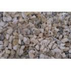 Галька речная белая с коричневым тигровая Кавказ 10-20 мм, 50 кг