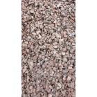 Щебень гранитный розовый 5-20 мм, 1 тонна, биг-бэг