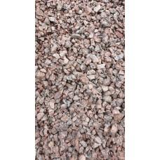 Щебень гранитный розовый 5-20 мм