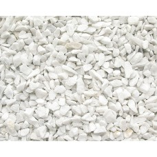 Мраморная крошка супер белая 5-10 мм, 20 кг